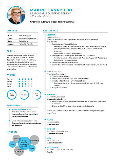 Top 20 Des Cv Les Plus Modernes Et Design En 2019 A Telecharger